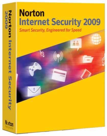 Bestselling Software (2008) - Norton Internet Security 2009 1User/3Pc