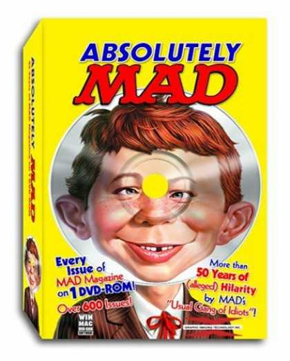 Bestselling Software (2008) - Absolutely MAD Magazine - 50+ Years