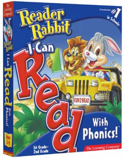 Bestselling Software (2008) - Reader Rabbit I Can Read With Phonics 1st and 2nd Grade