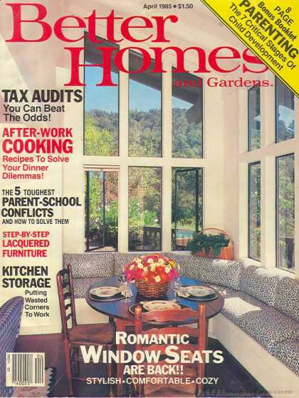 Better Homes and gardens - April 1985