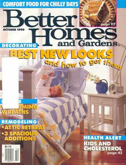 Better Homes and gardens - October 1990
