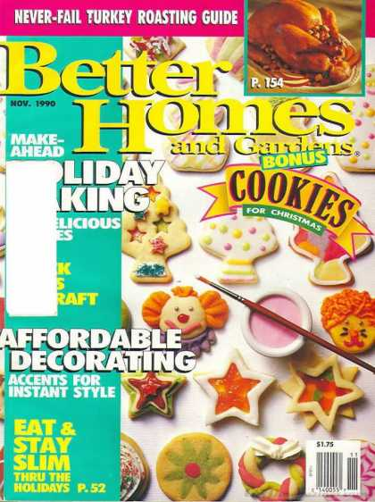 Better Homes and gardens - November 1990