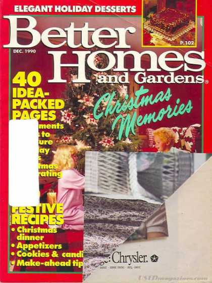 Better Homes and gardens - December 1990
