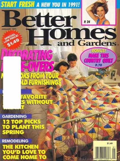 Better Homes and gardens - January 1991