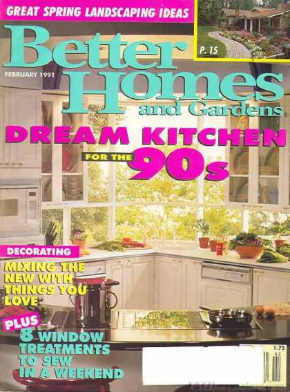 Better Homes and gardens - February 1991