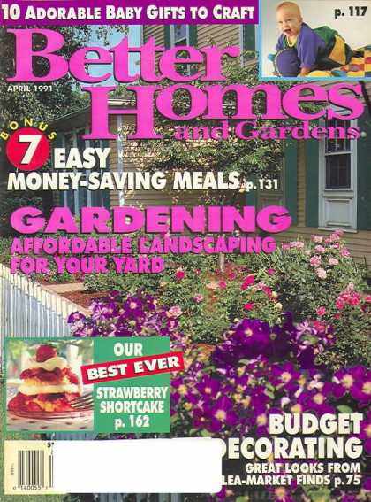 Better Homes and gardens - April 1991