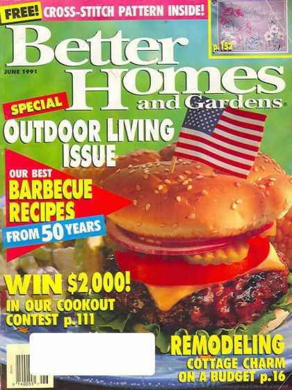 Better Homes and gardens - June 1991