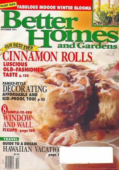 Better Homes and gardens - October 1991