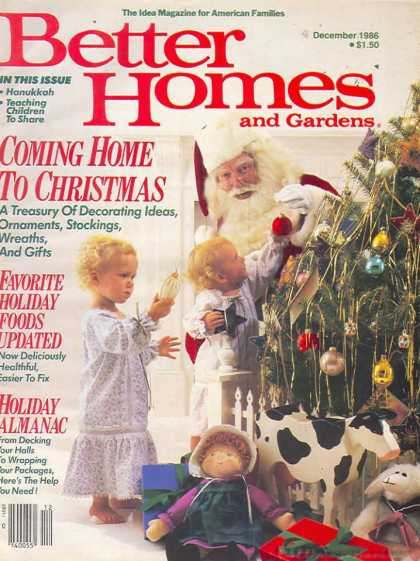 Better Homes and gardens - December 1986