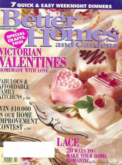 Better Homes and gardens - February 1992