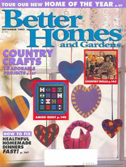 Better Homes and gardens - September 1992