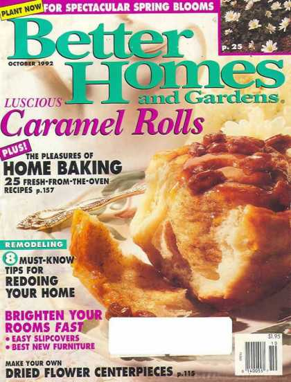 Better Homes and gardens - October 1992