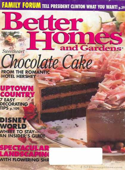 Better Homes and gardens - February 1993