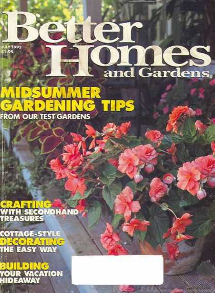 Better Homes and gardens - July 1993