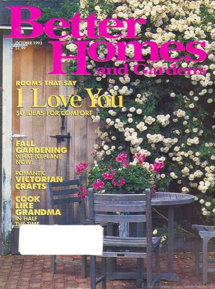 Better Homes and gardens - October 1993