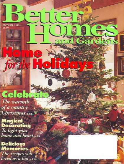Better Homes and gardens - December 1993