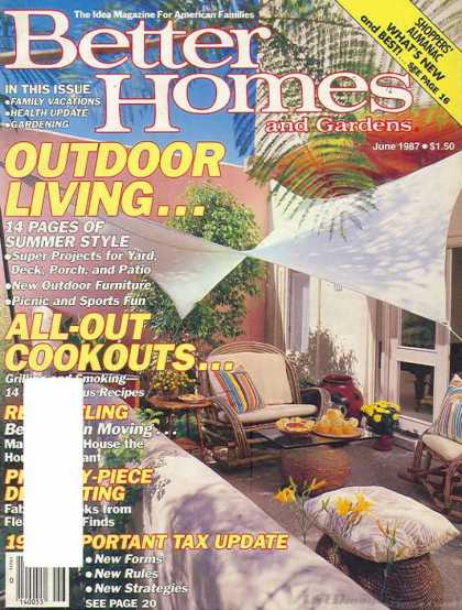 Better Homes and gardens - June 1987