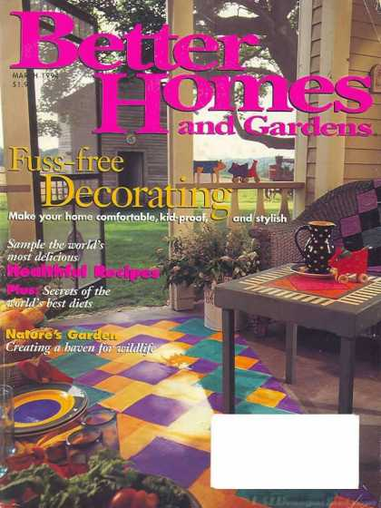 Better Homes and gardens - March 1994