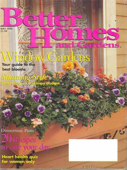 Better Homes and gardens - May 1994