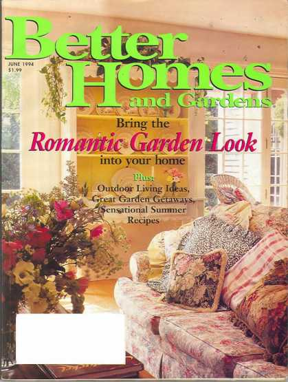 Better Homes and gardens - June 1994