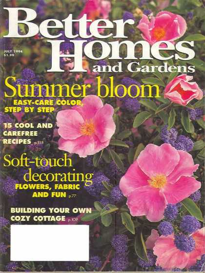 Better Homes and gardens - July 1994