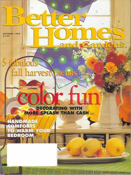 Better Homes and gardens - October 1994