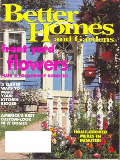 Better Homes and gardens - April 1995