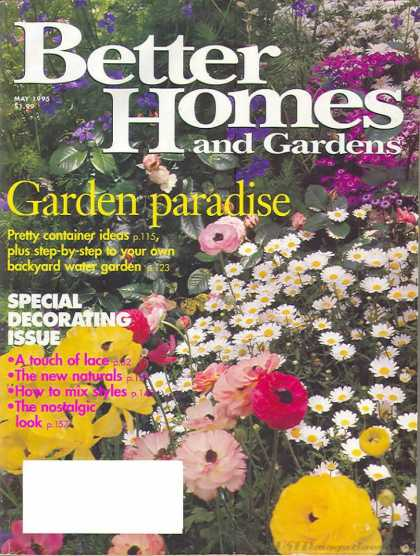 Better Homes and gardens - May 1995
