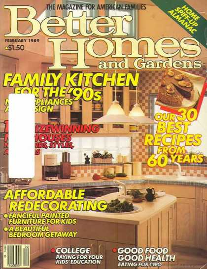 Better Homes and gardens - February 1989