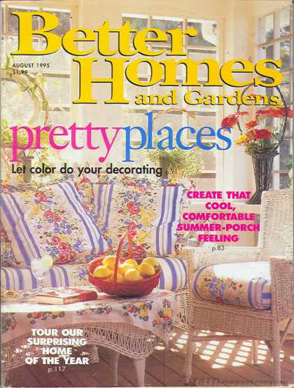 Better Homes and gardens - August 1995