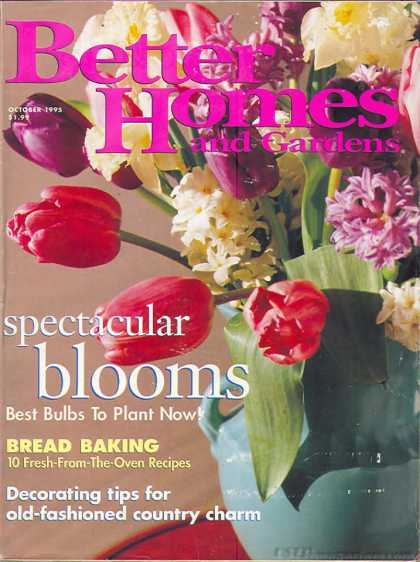 Better Homes and gardens - October 1995