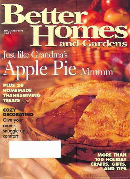 Better Homes and gardens - November 1995