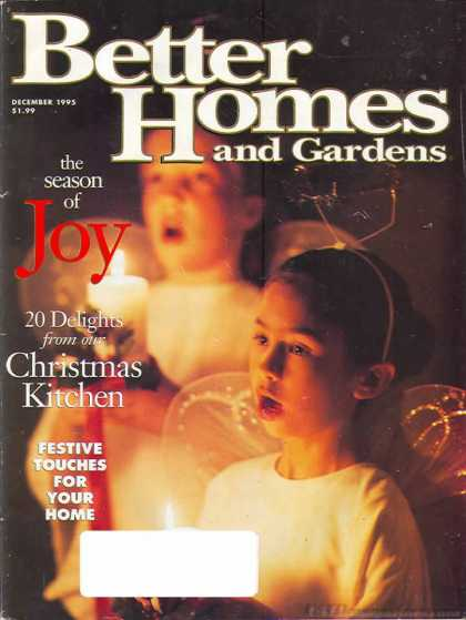 Better Homes and gardens - December 1995