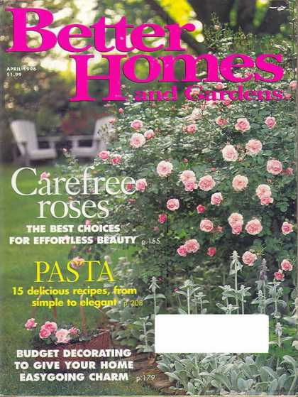 Better Homes and gardens - April 1996