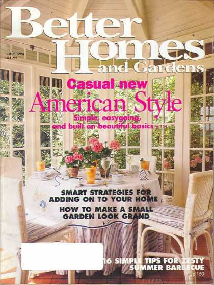 Better Homes and gardens - July 1996