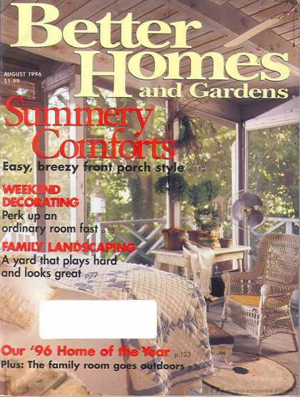 Better Homes and gardens - August 1996
