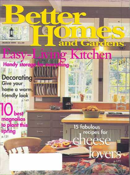 Better homes and gardens covers 50 99 for Better homes and gardens tv show contact