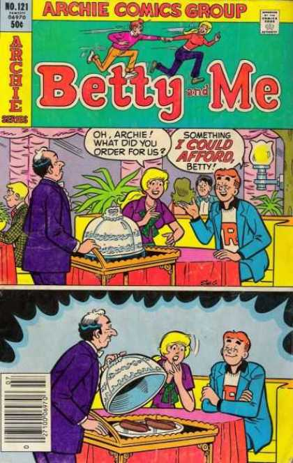 Betty and Me 121 - Cartoon - Man - Lady - Betty And Me - Red