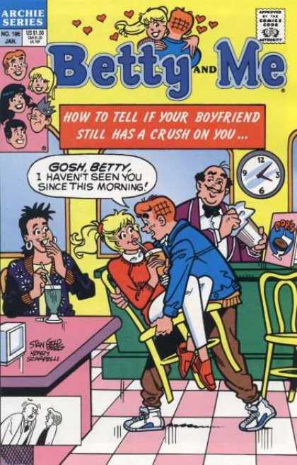 Betty and Me 196 - Archie - Clock - Jughead - Veronica - January