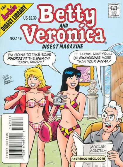 Betty and Veronica Digest 149