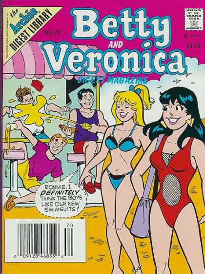 Betty and Veronica Digest 70