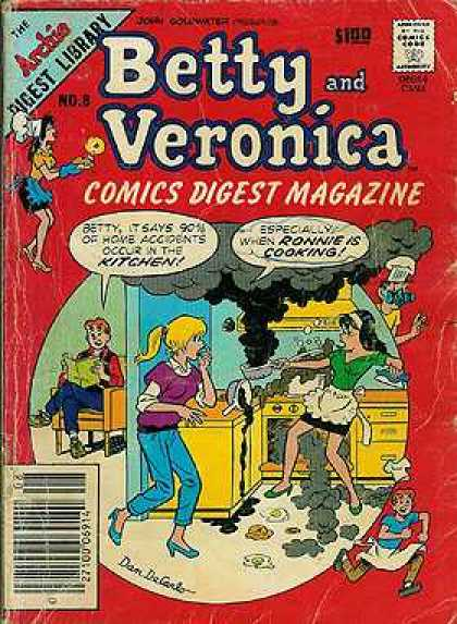 Betty and Veronica Digest 8