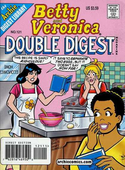 Betty and Veronica Double Digest 121