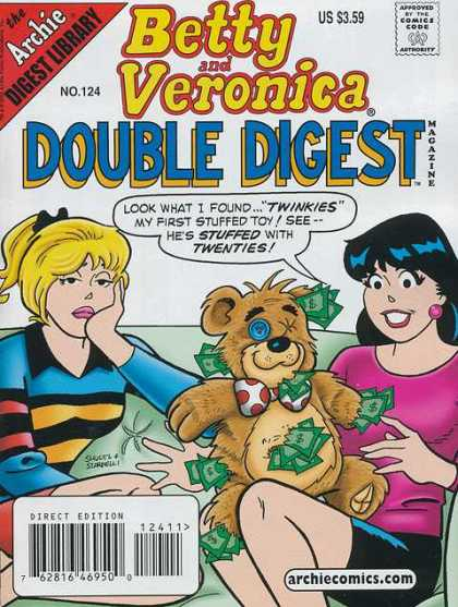 Betty and Veronica Double Digest 124 - Empathetic - Sad - Depressed - Polar - Showgirl