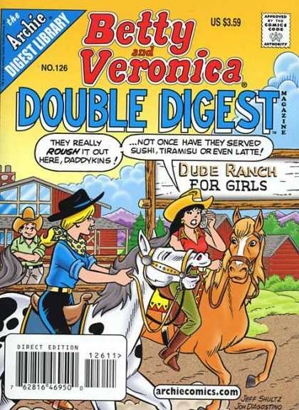Betty and Veronica Double Digest 126