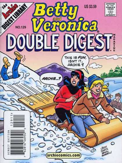 Betty and Veronica Double Digest 129