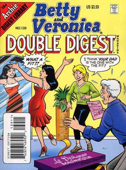 Betty and Veronica Double Digest 139 - Archie - Archie Comics - Betty - Veronica - Double Digest