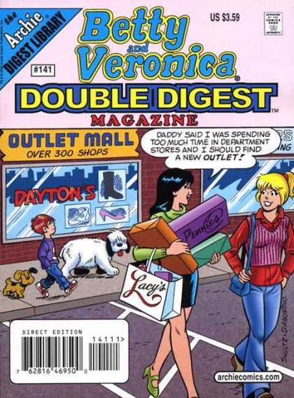 Betty and Veronica Double Digest 141