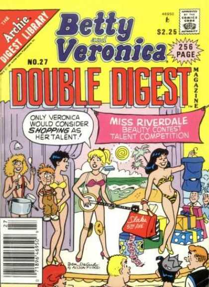 Betty and Veronica Double Digest 27