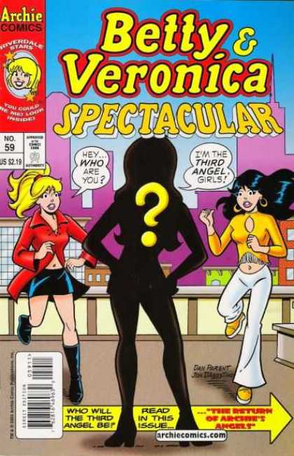 Betty and Veronica Spectacular 59 - Archie - Riverdale - Charlies Angels - Third Angel - White Pants
